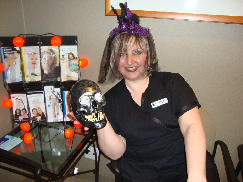 Halloween 2011 at Lougheed Mall Dental 10