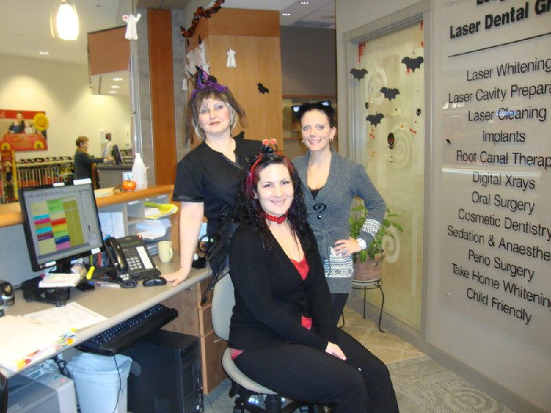 Halloween 2011 at Lougheed Mall Dental 11