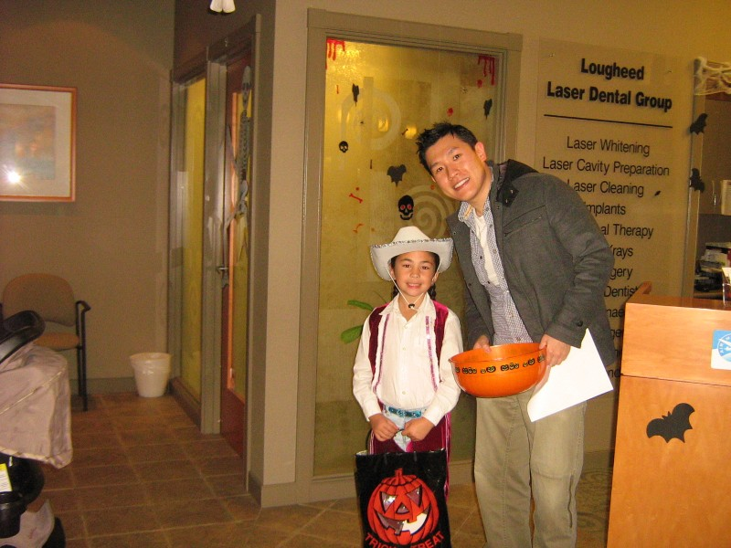 Halloween 2011 at Lougheed Mall Dental 2
