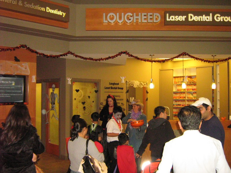Halloween 2011 at Lougheed Mall Dental 8